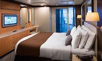 Spacious AquaTheater Suite Large Balcony 2 Bedroom