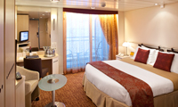 Veranda Stateroom (Some Accessible)